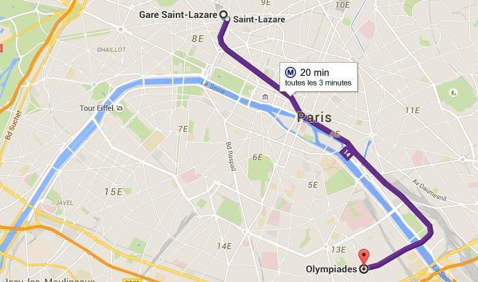 Itineraire Metro Gare Montparnasse Gare De Lyon Vinny Oleo